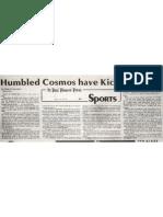 Humbled Cosmos