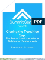 Closing the Transition Gap