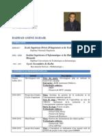 CV Haddad Amine Sghaier