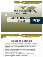 1. Intro to Defensive Handgun