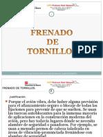 FRENADO DE TORNILLOS