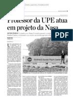 Jc - Professor Da Upe Atua Em Projeto Da Nasa
