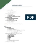 ASP.net 4 Training Outline