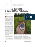 Mapping the Road to IFRS