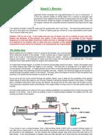 Smacks Booster - Addition de Gaz de Brown Produit Par Electrolyse de l'Eau Dans Un Moteur Conventionel