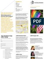 EBSC LGBT and HIV/AIDS Program Brochure