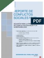 REPORTE DE CONFLICTOS SOCIALES N°89