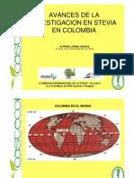 Avances de La Investigacion en Stevia en Colombia Ing_Jarma_Colombia
