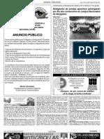 Notisemana Pág 10 y 11. Edición 13.
