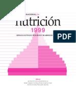 Encuesta Nacional de Nutricion 1999