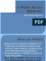 Security in Mobile Ad-Hoc Networks