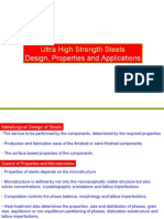 Design Ultra High Strength Steel