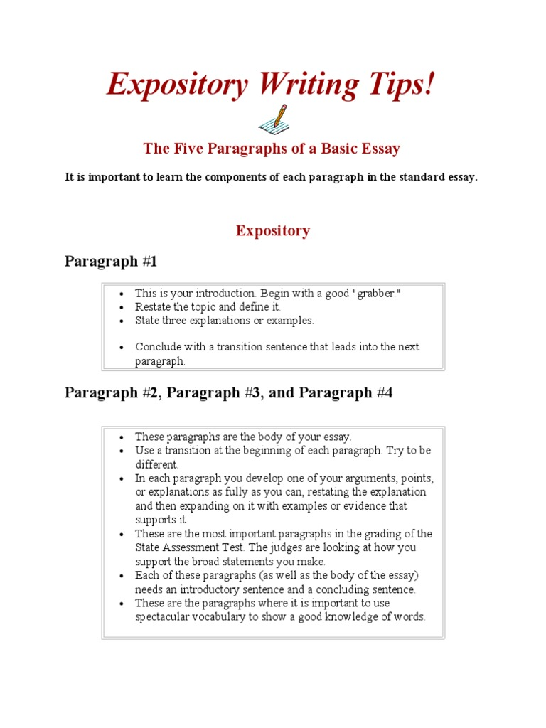expository text examples