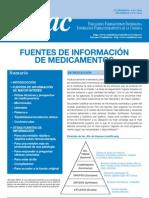 Fuentes de información de medicamentos (INFAC vol 19 n 6)