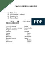 ADMINISTRACIÓN DE MEDICAMENTOS 1