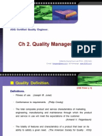 Ch2 Quality Management