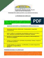 Esquemas de Unidades Didactic As Primarial (Juan Barrera)