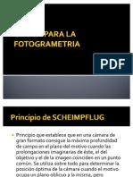 Optica Para La Fotogrametria
