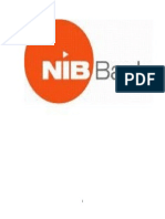 Internship Report on NIB