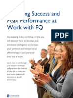 Achieving Success and Performance With EQ