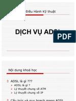 Hệ thống mạng ADSL