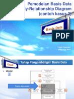 Basis Data - L07 - Entity Relationship Modeling (Contoh 2)