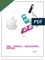 iPOD New Product Development Process