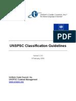 UNSPSC Classification Guidelines-040209-Revised Final