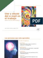 Uso y abuso del email en el trabajo
