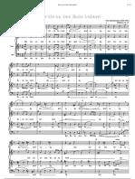 Wer Bis an Das Ende Beharrt Mendelssohn