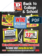 D.I.D Electrical Back to School Brochure 2011