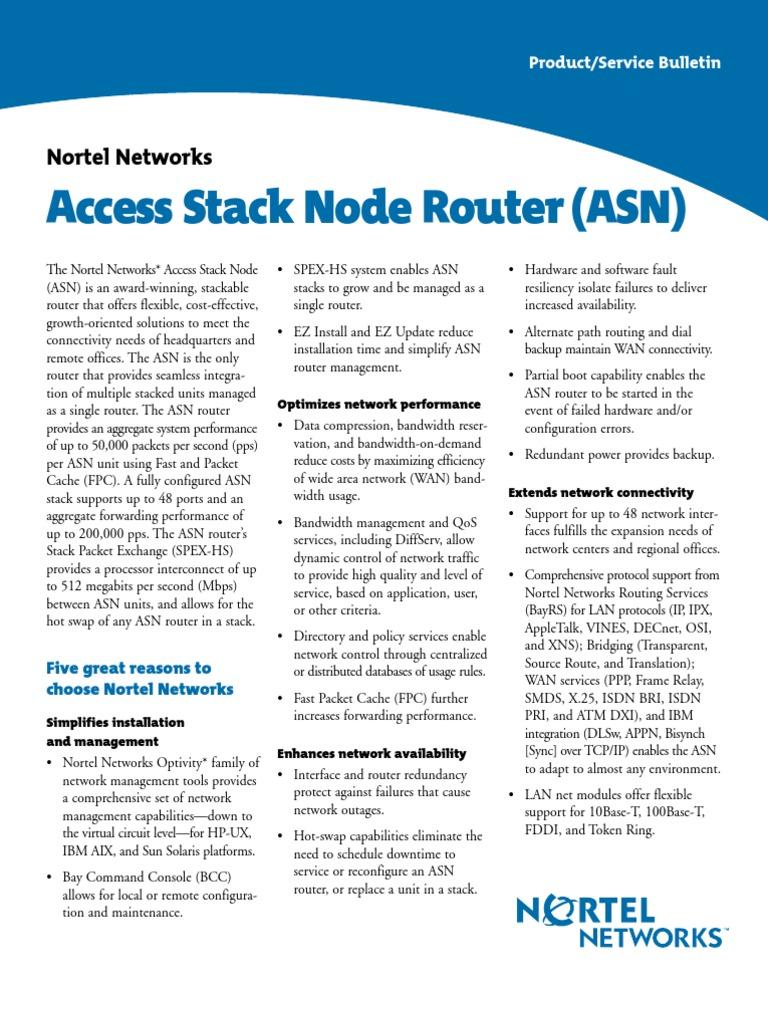 Asn Router Ds | Router (Informática) | Red de computadoras