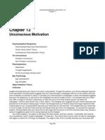 Understanding Motivation Chapter13