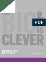 City of Glasgow College - Part Time Prospectus 2011-2012