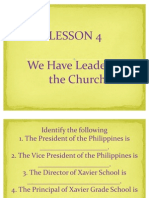 G2 LP 7 Lesson 4-We Have Leaders in the Church