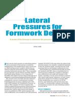 Hurd Revised Formwork Formulas