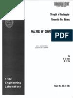 Analysis of Composite Box