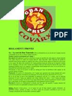Reglament del Gran Prix Covarxí 2011