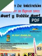 Jornadas Iniciación. Surf y Paddle Surf Maspalomas2011
