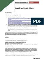 Atelier Windows Live Movie Maker -JL