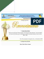 reconocimiento directores