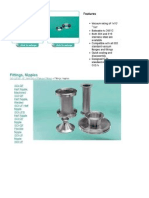 vacuum fitting Components- ISO