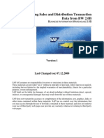 561 Extracting Sd Data Into Sap Bw
