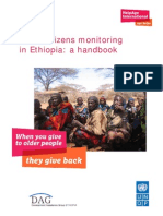 Older Citizens Monitoring in Ethiopia