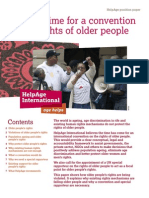 Why It's Time for A Convention on the Rights of Older People