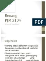 Kemahiran Asas Renang - PJM 3104