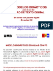 13 modelos didácticos de uso del libro de texto digital