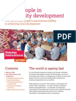 Older People in Community Development