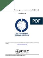 Corticosteroids for Managing Tuberculous Meningitis - Review