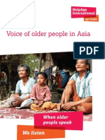 Voice of older people in Asia